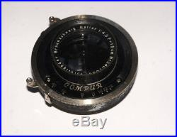 VERY RARE Voigtlander HELIAR 4.5/15 cm Large Format lens 10x15 cm COMPUR shutter