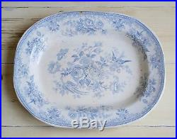 VERY RARE c1867-75 COCKSON & CHETWYND ASIATIC PHEASANTS LARGE 16 PLATTER