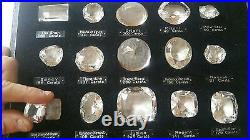 VERY RARE old 15 Historical Diamonds set, all flawless large carat life size