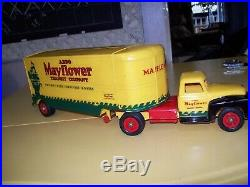 VERY VERY RARE LARGE 1950's PLASTIC MAYFLOWER MOVING VAN! ONLY ONE ON EBAY