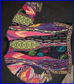 VINTAGE COOGI WOMENS SWEATER SIZE LARGE 100% Authentic very rare
