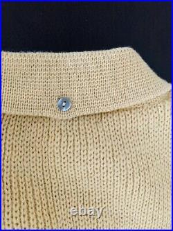 VINTAGE SCHIAPARELLI 1950s Very Rare men's sweater Made in Italy