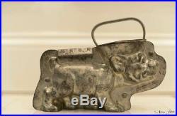 Very Rare 1920s Anton Reiche Chocolate Mold. Large Bonzo The Dog