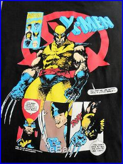 Very Rare 90's Vintage X-Men Wolverine Comic Book T Shirt Large VGC 100% Cotton