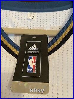 Very Rare Adidas #9 Washington Wizards Gilbert Arenas Authentic