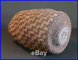 Very Rare Large 1880's Pacific Northwest Columbia River Wasco Wishram Root Bag