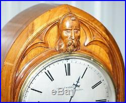 Very Rare Large Gothic Revival Charles Frodsham Clock Maker To Queen Victoria