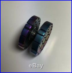 Very Rare Large Mountain Tops SC Buttons 10/10 Rotablade Torqbar Spinner Edc