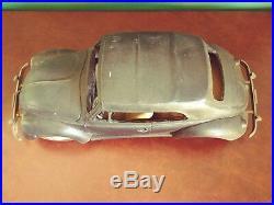 Very Rare Large VW Volkswagen Beetle Kafer Convertible Tin Presentation Model
