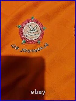 Very Rare Match Prepared Long Sleeve Blackpool FC 1991-1993 Home Shirt