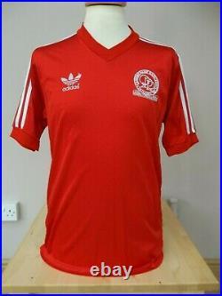 Very Rare Qpr Queens Park Rangers Adidas Away Shirt 1982 Mens Large Cup Final