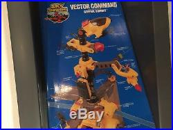 Very Rare Sealed Kenner Sky Commanders Vector Command AFA MISB Large Playset