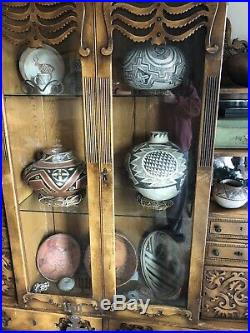 Very Rare Super Large SOCORRO Anasazi Pottery Olla