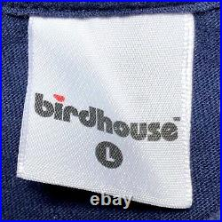 Very Rare VTG 90s Birdhouse Skateboard T Shirt Mens L Tony Hawk Anime Hook Ups