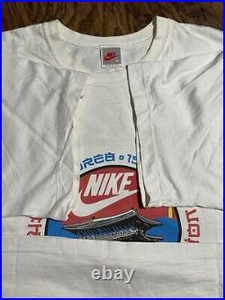 Very Rare Vintage 1988 NIKE South Korea Summer Olympics Seoul Tee USA