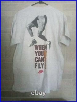 Very Rare Vintage 90's Michael Jordan Nike T-shirt! Promtional, Chicago Bulls