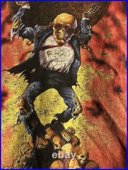 Very Rare Vintage 90s Megadeth Metal Shirt Size Xl Tour 1991 Brockum Tag