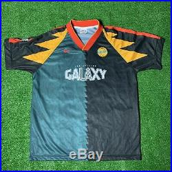 Very Rare Vintage Nike LA Galaxy Soccer Jersey Size Large