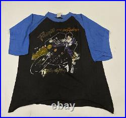 Very Rare Vintage Prince And The Revolution Live Tour 1985 3/4 Sleeve Size Large