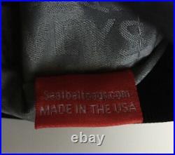 Very Rareharveys Seatbelt Cosmetic Bag Black Large