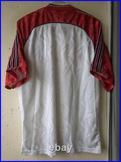 Very rare Vintage 80s Adidas Yugoslavia away shirt, jersey 1990 1992