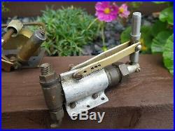 Very rare large Bassett lowke live steam boiler and hand pump stuart turner