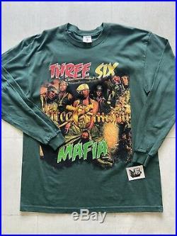 Vintage 1998 Three Six Mafia Long Sleeve Rap Tee. Size Large. Very Rare