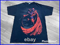 Vintage 2000's Magneto T Shirt Sz L Marvel Mad Engine X Men Very Rare