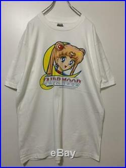 Vintage 90's Sailor Moon Tee T Shirt Unused SizeXL White TULTEX Very Rare 1999