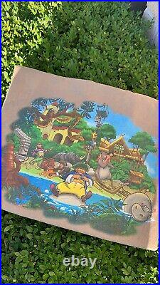 Vintage 90s Disney Magic Kingdom T-Shirt Mens Sz L Very Rare
