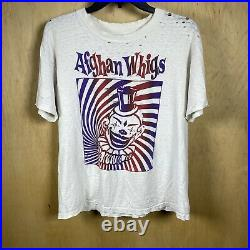 Vintage Afghan Whigs T shirt Large Late 80s Pre Big Top Halloween Very Rare
