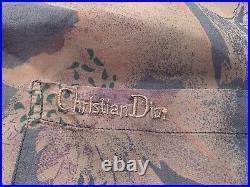 Vintage Christian Dior Silk Shirt Very Rare 80s 90s