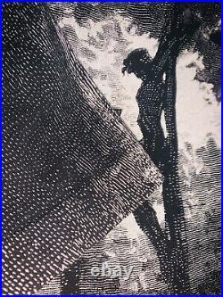 Vintage Early 90s Gustave Dore Jesus AOP Art Movie Akira Anime Movie Very Rare
