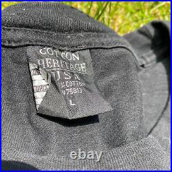 Vintage Jay Z Rap Tee Rocafella Blueprint L OG 90s Tshirt Very Rare VTG Y2k