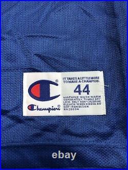 Vintage NBA Dennis Rodman Dallas Mavericks Champion Jersey sz L 44 very rare