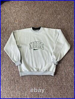 Vintage Nike Spellout Sweatshirt Very Rare