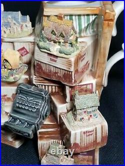 Vintage Paul Cardew Lilliput Lane Large Market Stall Teapot VERY RARE