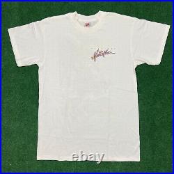Vintage VERY RARE Nike 1994 HONOLULU MARATHON Grey Box Tag White T-shirt