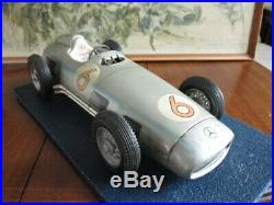 Vintage large TIPPCO Mercedes SILVER ARROW Racing Car! W. Germany! Very Rare