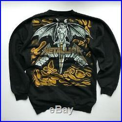 Vintage very rare 90s Metallica Don't Tread on Me Sweatshirt