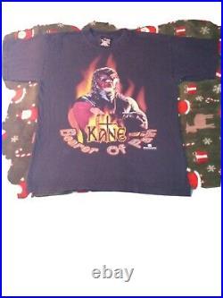 WWE VERY RARE Vintage Original 1998 WWF KANE BEARER OF PAIN WRESTLING Shirt LRG