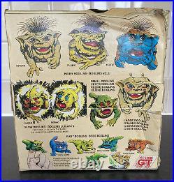 Wiggly Tongue Large Boglin Plunk Very Rare Attic Find Vintage Please Read
